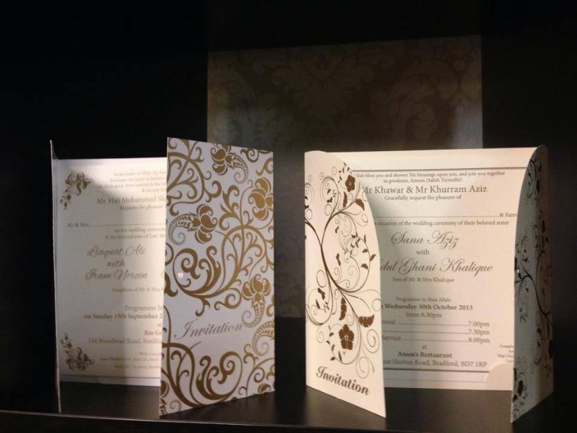Premier Online Pakistani Wedding Cards Shaadi Cards Printers
